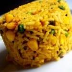 arroz con elote