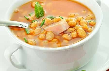 Sopa de habas pictures to pin on pinterest pinsdaddy for Como cocinar habas secas