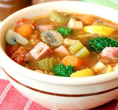 receta sopa mexicana