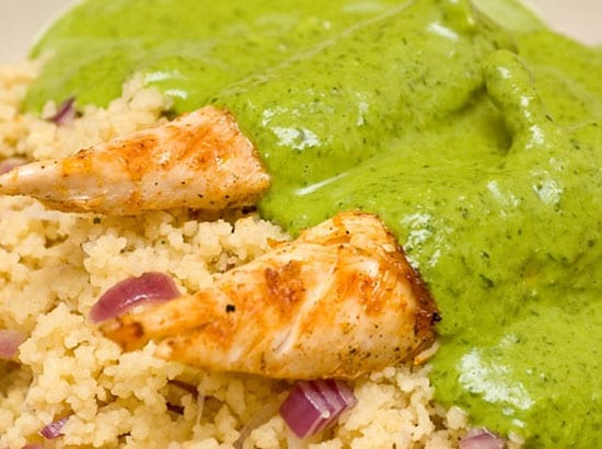 Pechugas de pollo en salsa de chile verde recetas mexicanas - Como cocinar pechuga de pollo ...