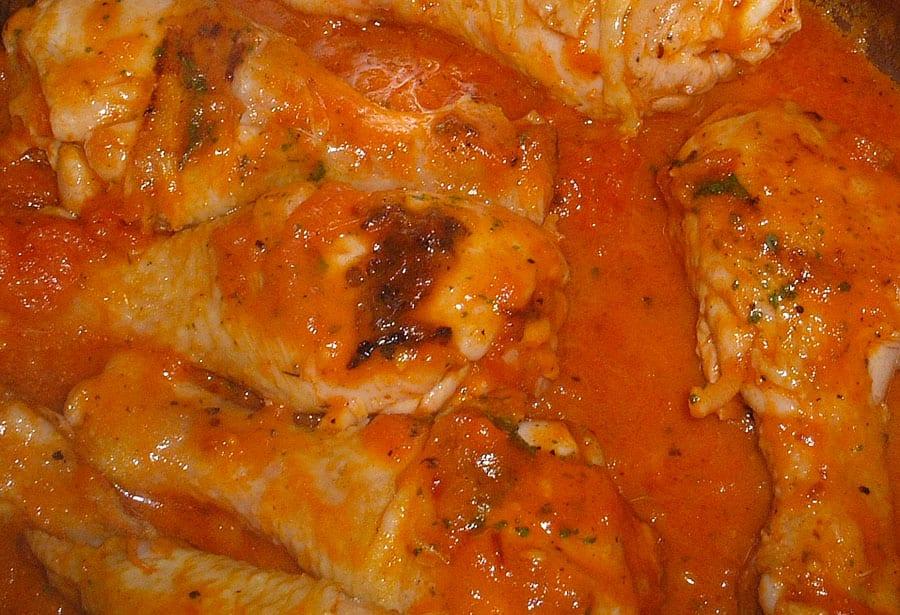 Pollo en chile chipotle » Pollo preparado con chile chipotle