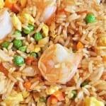 arroz con camarones