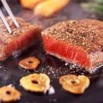 bistec de res a la pimienta