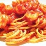 camarones en salsa de tomate