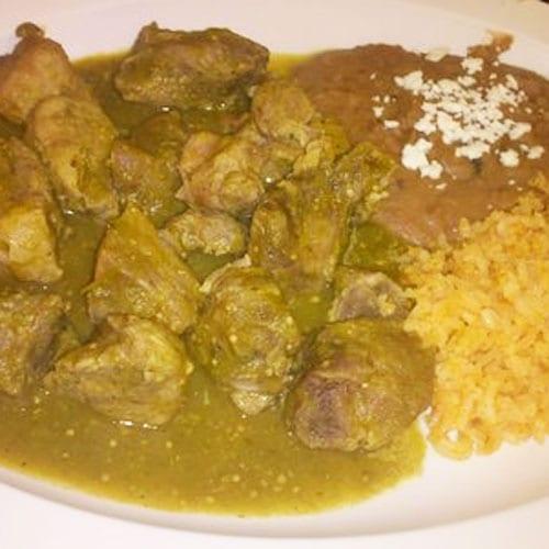 Bistec en salsa verde | Recetas Mexicanas