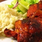 pollo con achiote