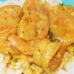 camarones en salsa de coco
