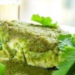 filete de pescado en salsa verde