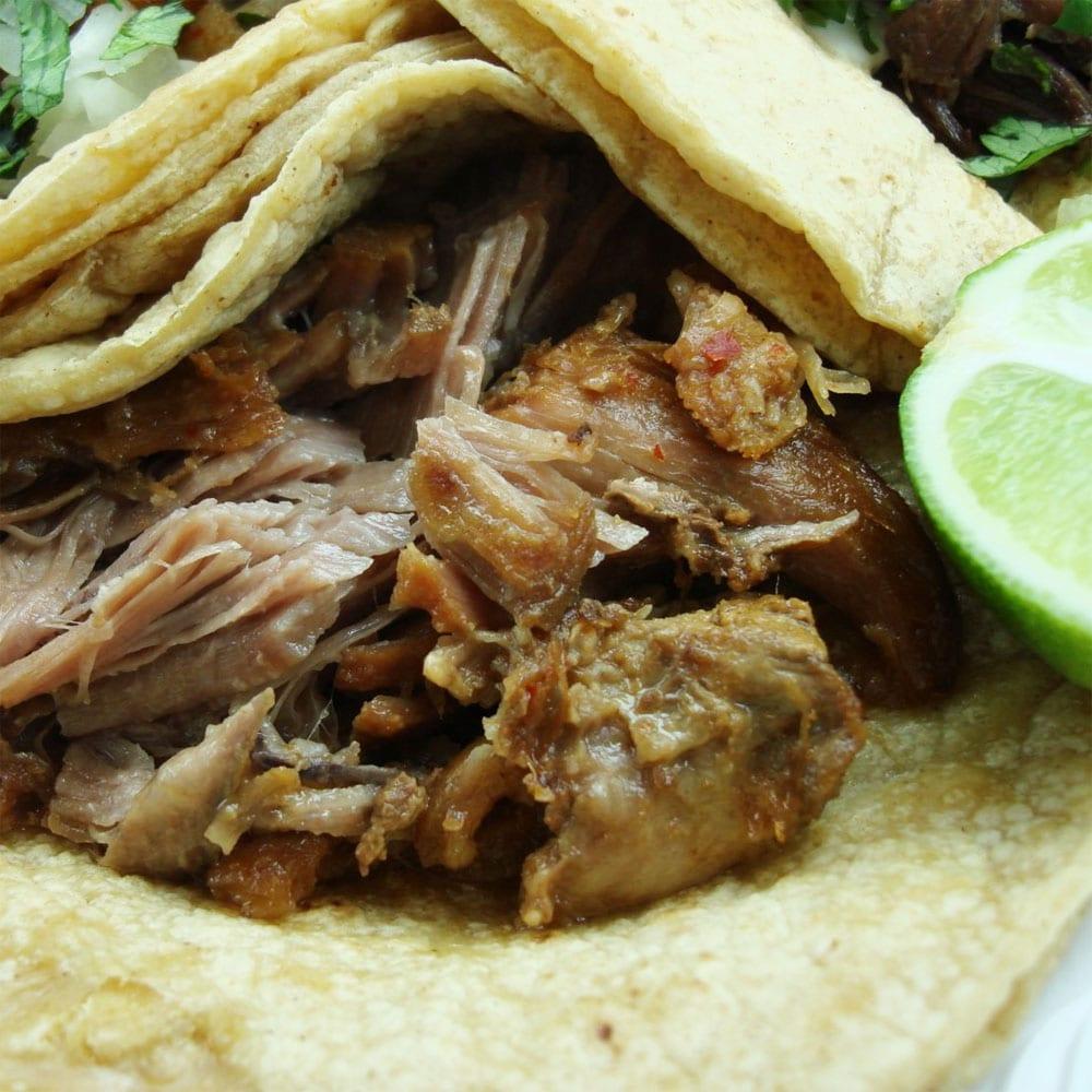 Carnitas estilo Michoacán