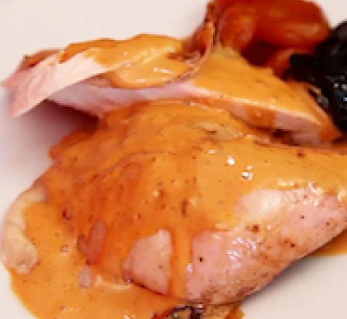 Pollo en salsa de chipotle Recetas Mexicanas