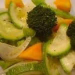 verduras a la mantequilla