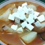 sopa de queso