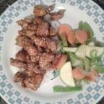 pollo con ajonjoli
