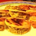 gorditas de rajas de chile poblano