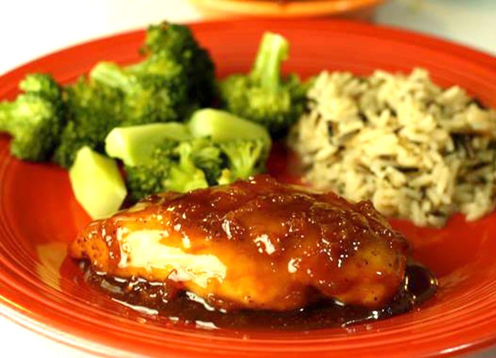 Receta de pechugas de pollo glaseadas