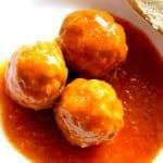 albondigas en salsa picante