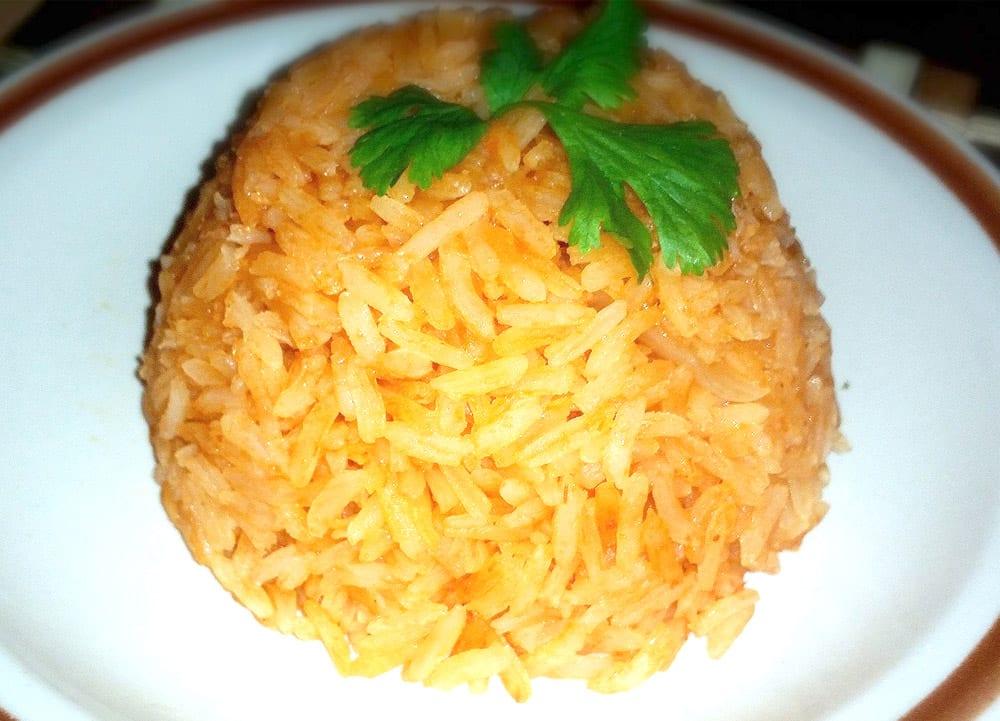 Arroz rojo a la mexicana recetas mexicanas for Cocinar 2 tazas de arroz