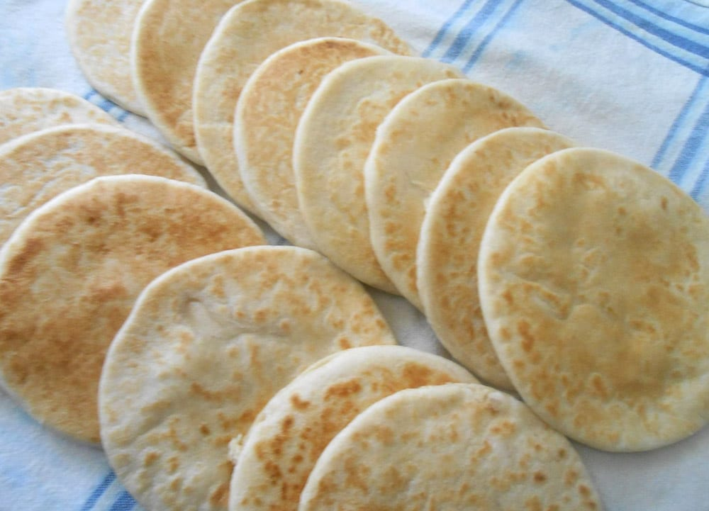 Receta de gorditas de harina rellenas
