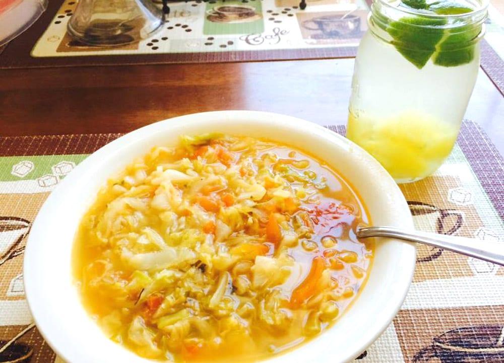 Sopa de repollo recetas mexicanas for Como preparar repollo