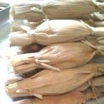 tamales de espinacas