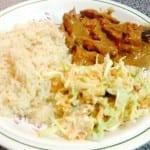 pollo en salsa de ciruela y chipotle