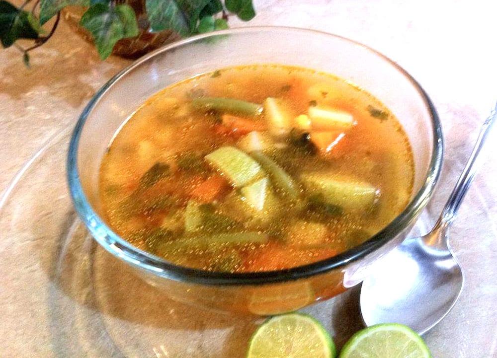 Caldo de Pollo Caldo Pollo Verduras Jpg