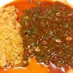 nopales en chile colorado