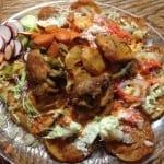 Gorditas con pollo estilo Acaponeta Nayarit