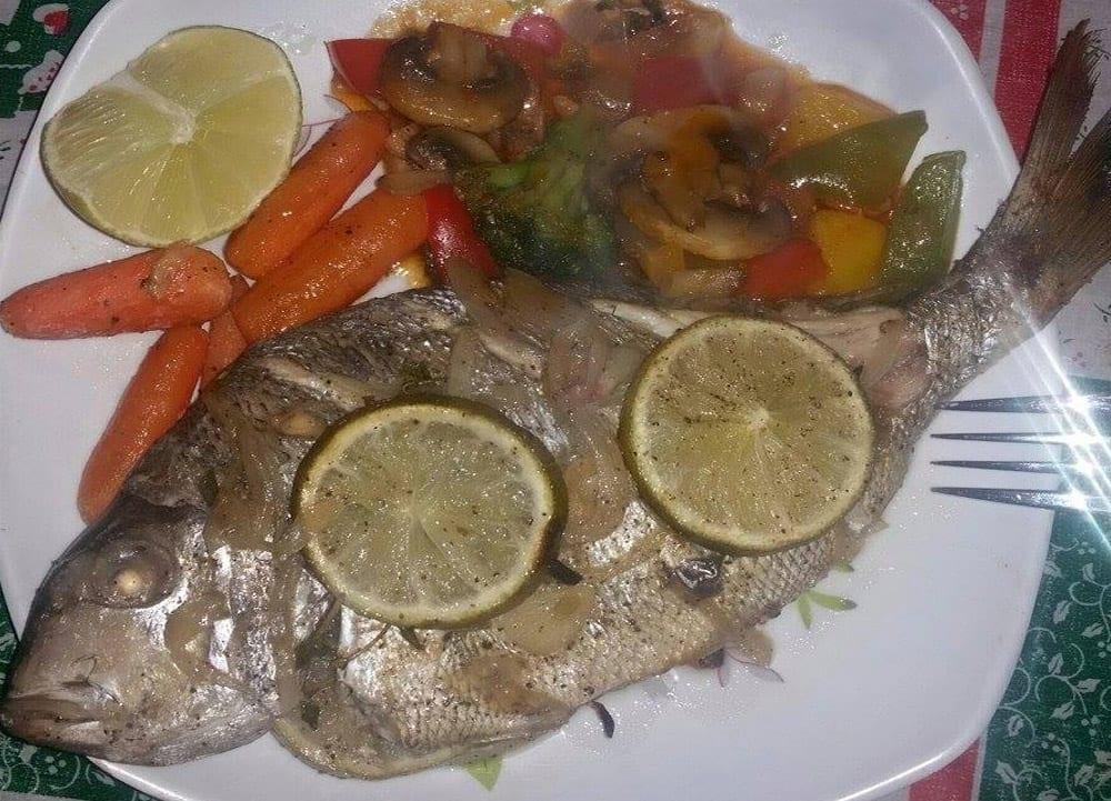 Pescado al horno con naranja recetas mexicanas for Como cocinar pescado al horno