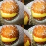 Bombas rellenas de crema pastelera