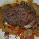 Carrillada de cerdo al horno