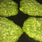 Tortitas de huauzontle con romeritos