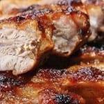 receta de costillas de cerdo al whisky