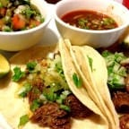 tacos de cachete de res
