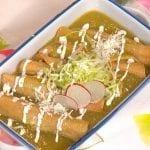 tacos dorados en salsa
