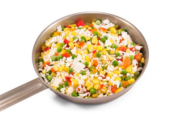 arroz a la jardinera receta