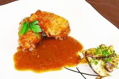 pechugas pollo chile morron