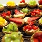 tartaletas frutas