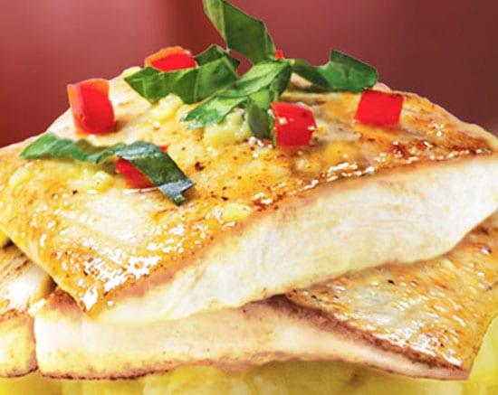 pescado a la mostaza