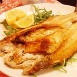 pescado en salsa de ajos