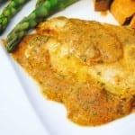 pollo en mostaza