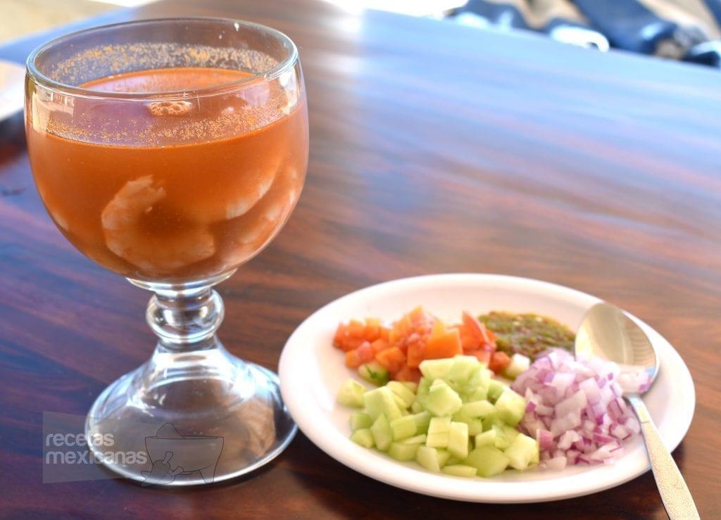 Coctel de camar n recetas mexicanas - Coctel de marisco ingredientes ...