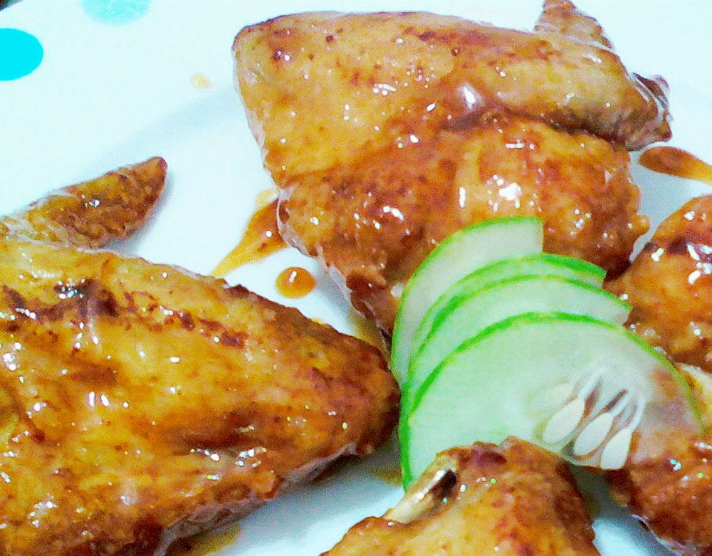 pollo en salsa de ciruelas pasas