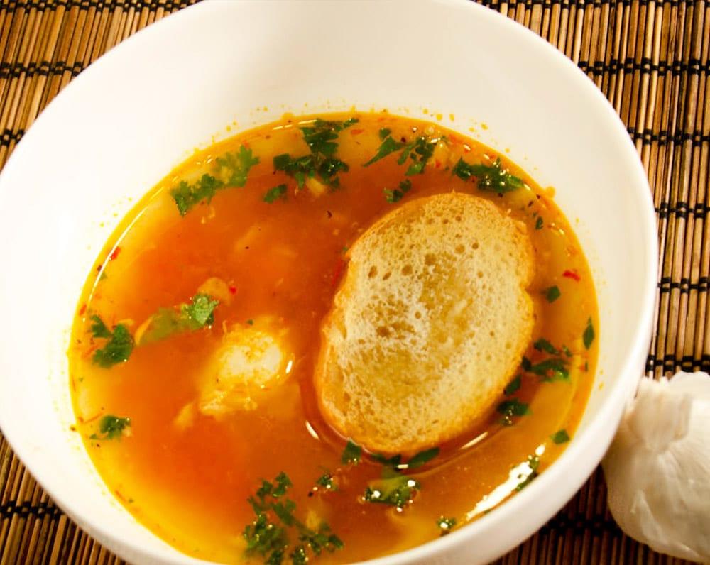 sopa de ajos