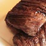 bistec de res al ajo