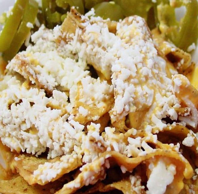 nachos estilo sinaloa