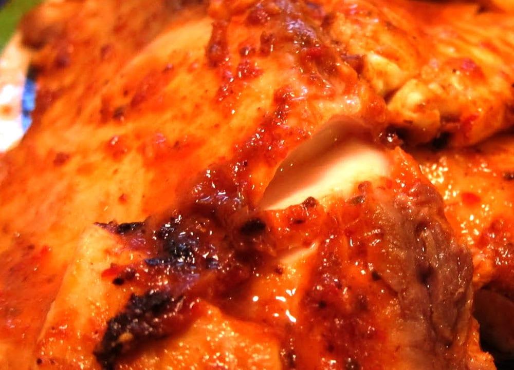 Filete de pescado en chipotle