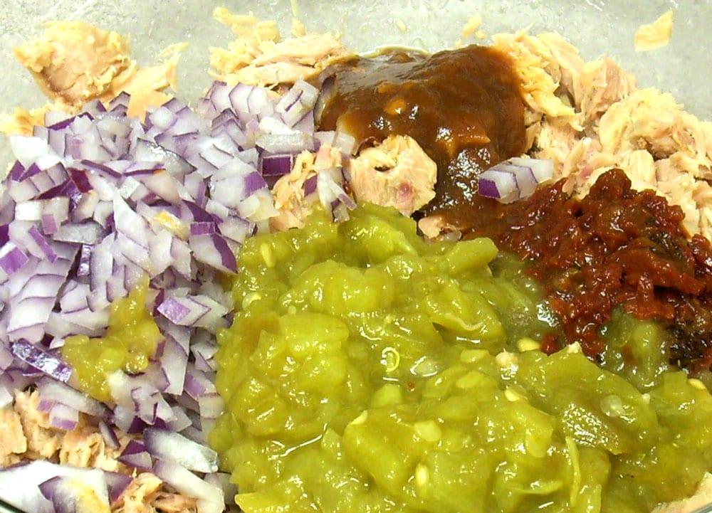 atún en salsa verde