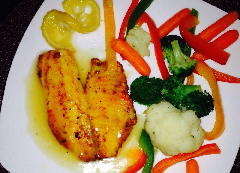 Receta de filete de pescado al limon
