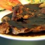pollo en salsa de ostion